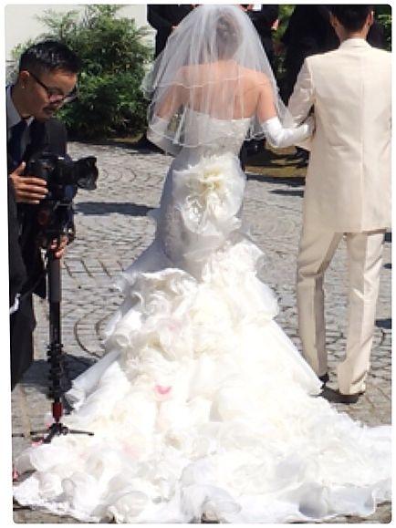 ライラックローズ ブライダルエステ イメージ画像 マーメイドドレス 挙式直前 安い 痩身 姿勢