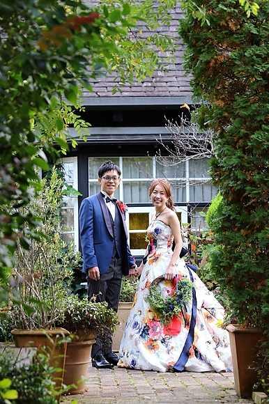 ライラックローズ ブライダルエステ イメージ画像 KE1 結婚式 痩身 ダイエット 綺麗 ドレス
