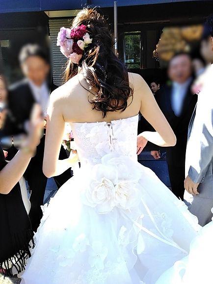 ライラックローズ ブライダルエステ イメージ画像 MR1 背中綺麗 ダイエット 痩身 花嫁 ドレス 肩甲骨